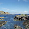 harbour entrance at St. Abbs, Berwickshire by Victor Lord Denovan