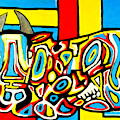 Haring's Cow by Jose Rojas