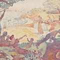 Harmonious Times By Signac by Paul Signac