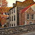 Harpers Ferry Back Street by Lois Bryan