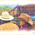 Hats Western Style 2 by Kae Cheatham