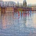 Hawthorn Bridge by W I L L Alexander