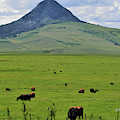 Hay Stack Butte Geological Feature by Kae Cheatham