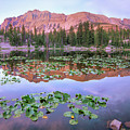Hayden Peak And Butterfly Lake, Uinta by
