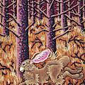 Hazy Purple Hustle by Amy E Fraser