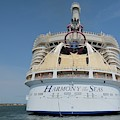 Harmony Of The Seas At Port Canaveral by Bradford Martin