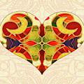 Heart Illustration - Creating Passionate Experience - Omaste Witkowski by Omaste Witkowski