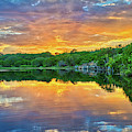 Heavenly Reflections In The Hill Country by Lynn Bauer