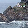 Heceta Head Light by Jurgen Lorenzen