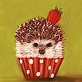 Hedgehog Cupcake by Anastasiya Malakhova