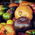 Heirloom Tomatoes At The Farmers Market by Scott Norris