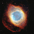 Helix Nebula, Satellite View Digital by Stocktrek