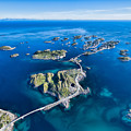 Henningsvaer, Fishing Port On Lofoten by Harvepino