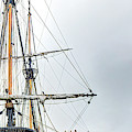 Hermione Frigate Rigging Panorama by Weston Westmoreland