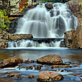 Hickory Run State Park Falls by Adam Jewell