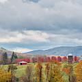 Hiddenhurst Farm Autumn by Bill Wakeley