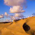High Sand And Low Clouds by Robert Potts