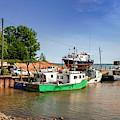 Hightide At Delhaven  by Ken Morris