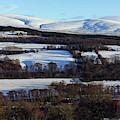 Hill Of Knocknashalg by Phil Banks