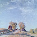 Hill Path In Sunlight, 1892 by Alfred Sisley