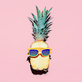 Hipster Pineapple Fashion Accessories by Evgeniya Porechenskaya
