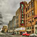 Historic Beauty Alabama Theatre Birmingham Alabama Art by Reid Callaway