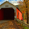 Historic Eagleville Covered Bridge by Adam Jewell