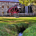 Historic Grist Mill In Sudbury by Luke Moore