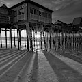 Historic Maine Old Orchard Beach Pier by Juergen Roth