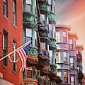 Historic North End Boston Massachusetts by Carol Japp