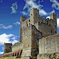Historic Rochester Castle by Anthony Dezenzio