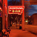 Historical Montana Bar by Leland D Howard