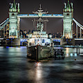Hms Belfast by Framing Places
