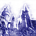 Hogwarts Pen Sketch by Matthew Nelson