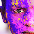Holi Face by Tim Gainey