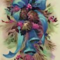 Holiday Wreath by D Hackett