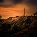 Hollywood Sunset by Gene Parks