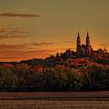 Holy Hill Sunrise Panorama by Dale Kauzlaric