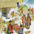 Home In Peru, Circa Ad 100 by Angus McBride