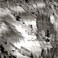 Hoodoo's Black White Utah  by Chuck Kuhn