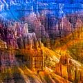 Hoodoo's Rainbow Color Mix Bryce Canyon  by Chuck Kuhn