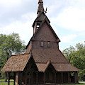 Hopperstad Stave Church Replica by Laura Smith