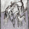 Horse In A Field by Edgeworth DotBlog