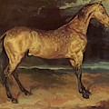 Horse In The Storm 1821 by Gericault Theodore