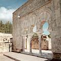 Horseshoe Arches At Medinat Al-zahra Cordoba Spain by Joan Carroll