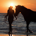 Horsewoman by Arterra Picture Library