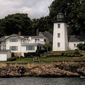 Hospital  Range Light From The Water by Jeff Folger