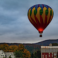 Hot Air Balloon At Woodstock Vermont by Jeff Folger
