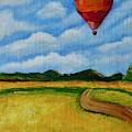 Hot Air Balloon by Jacqueline Athmann