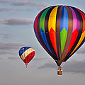 Hot Air Balloon Race - The Chase by Photo By Claudia Domenig
